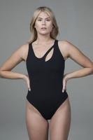 Seva Bodysuit in Black
