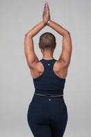 yoga bra in navy