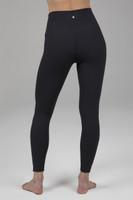 High Rise Compressive Yoga Leggings in Black