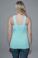 yoga top in luxe fabric