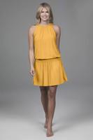 Grace Yoga Dress (Marigold)