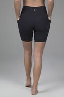 Duchess Biker Short Black with Pockets