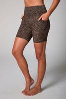 Duchess Biker Short Leopard Side