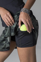 Olive Camo Perfect Skort Up-Close Tennis Skirt