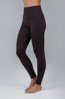 Brown legging ultra high-waist