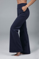 Navy Blue Flare Pant