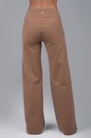 Tan Yoga Dress Pant