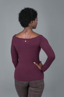 Long Sleeve Yoga Ruched Top