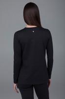 Long sleeve tunic black