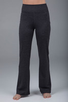 Slim bootcut gray pant