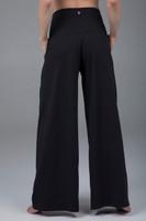 dress yoga pants pleated wide leg