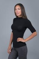 Yoga Turtleneck Short Sleeve
