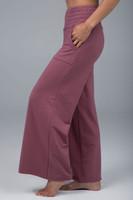 KiraGrace Cozy Boho Yoga Pant (Dusty Rose)