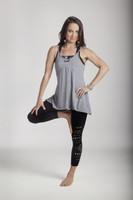 Grey Yoga Tank Tops Outfit Tiffany Cruikshank