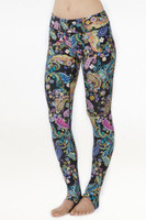 Wonderland Printed Grace Yoga Tight Leggings