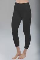 Black High Waist Yoga Capri leggings