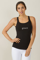 KiraGrace Grace Graphic Tank yoga top