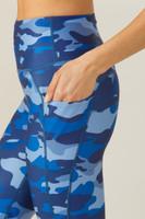 Ultra High Waisted Yoga Capri Pocket Detail