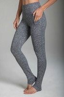 Pocket Yoga Tight in Grey Heather