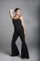 Grace Flare Yoga Pant in Black