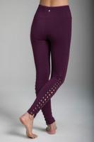Romance Grommet Yoga Legging in Moulin Rouge