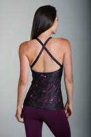 Grace Yoga Halter in Gorgeous