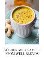 Golden Milk sample from Well Blends