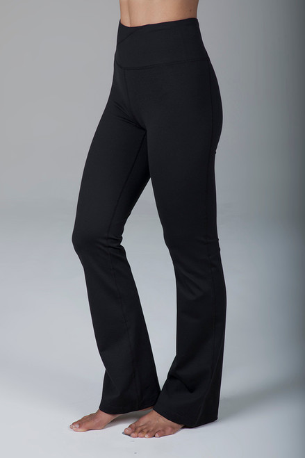 Ultra High Waist Black Bootcut Yoga Pants