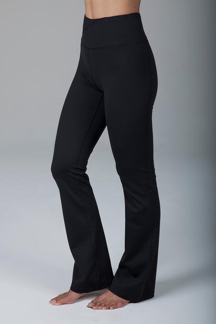 Ultra High Waist Black Bootcut Yoga Pants