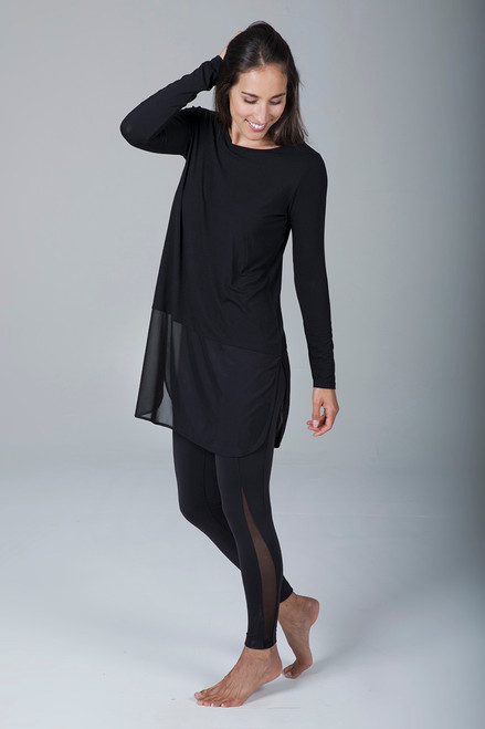 Fly Away Tunic (Black)