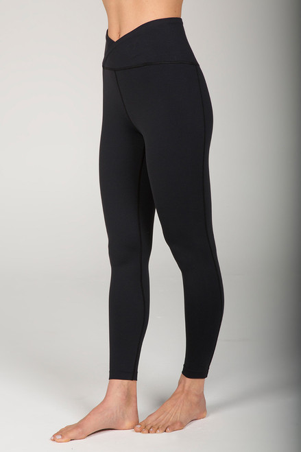 Black High Waist Yoga Leggings