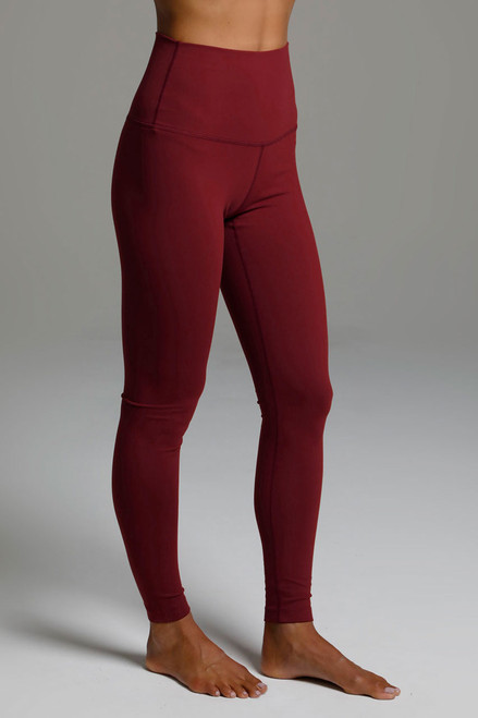 Renew High Waist Yoga Legging side view Sienna