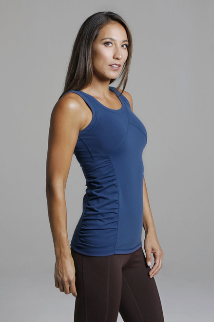 Goddess Long-Length Supportive Yoga Tank Top