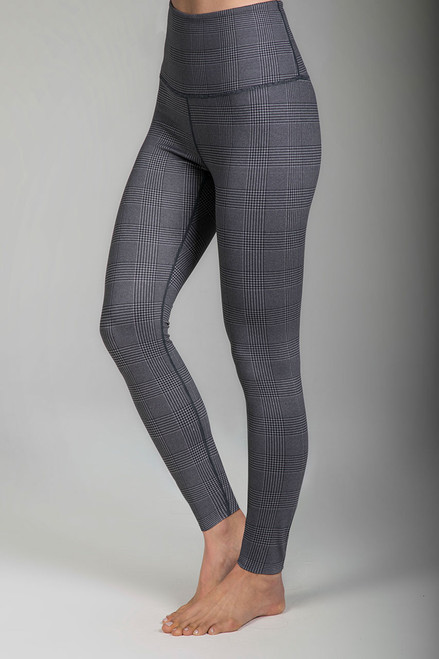 Renew Ultra High Waist Yoga Legging (Glen Plaid) side