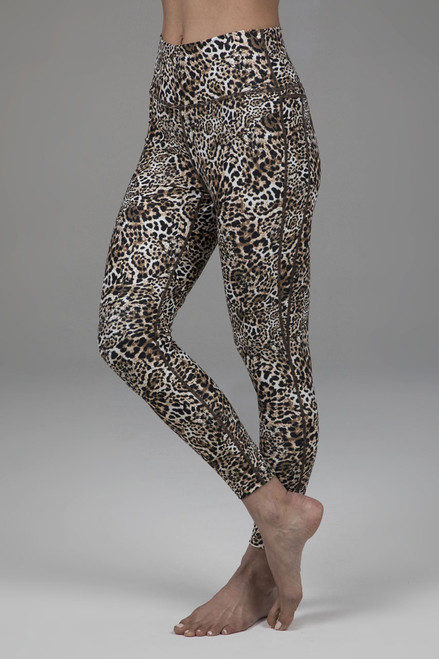 Kathryn 7/8 Yoga Legging in Leopard