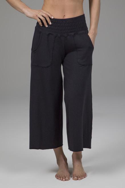 boho cropped yoga pant