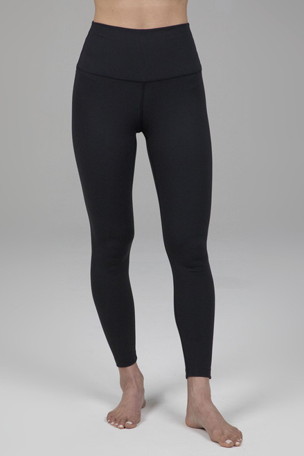 Ultra High Waist 7/8 Yoga Legging in Black