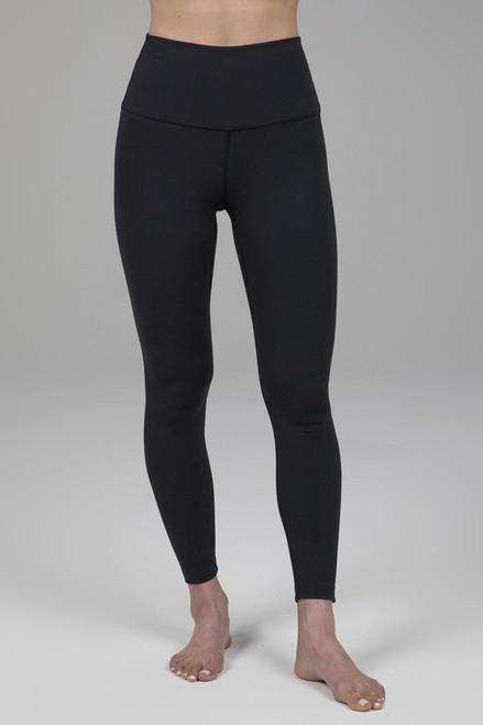 Ultra High Waist 7/8 Yoga Legging in Black