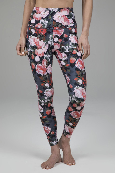 Ultra High Waist 7/8 Yoga Legging in Floral Print