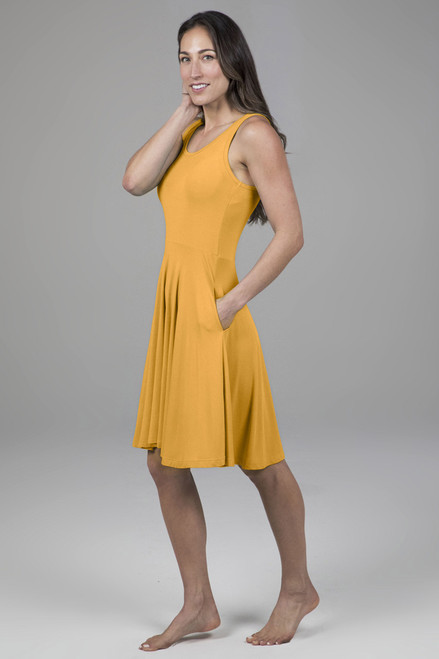 yoga dress with pockets