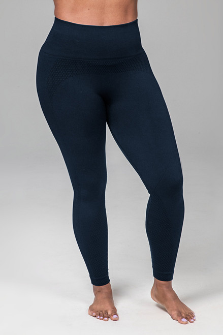 Kathryn Seamless Yoga Legging (Navy)