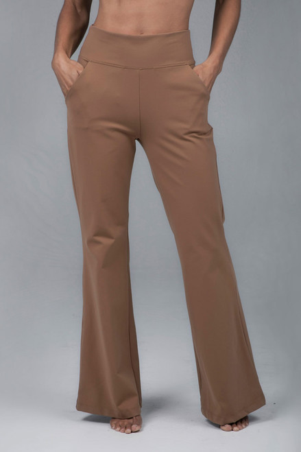 Perfect Flare Yoga Pant Camel