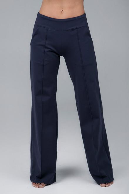 Perfect Wide Leg Pant Marine Navy
