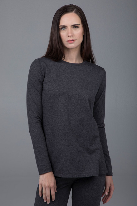 Split Side Long Sleeve Tunic
