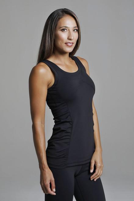 Goddess Long-Length Supportive Yoga Tank Top