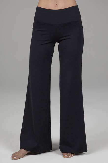 Wanderlust Palazzo Pant in Interlocked Rib fabric