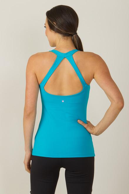 Grace Yoga Tank Turquoise
