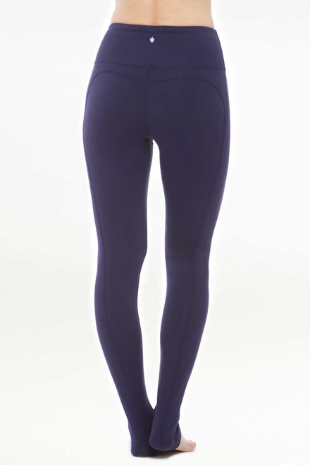 KiraGrace Glamour Goddes High Waisted Yoga Legging in Navy back