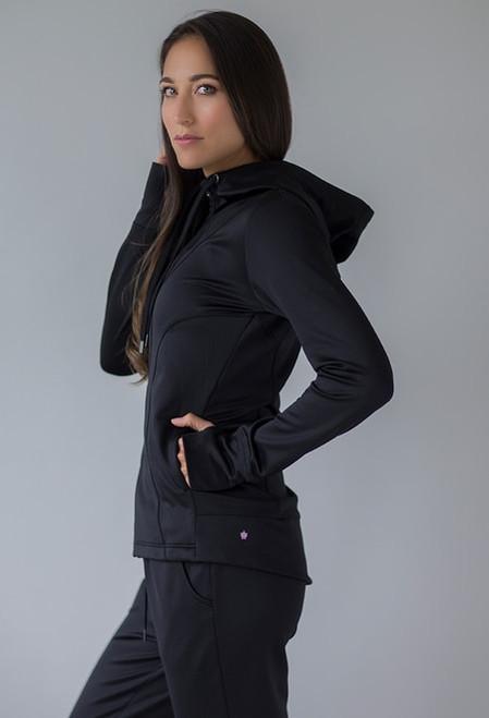 Black Elevate Fleece Jacket