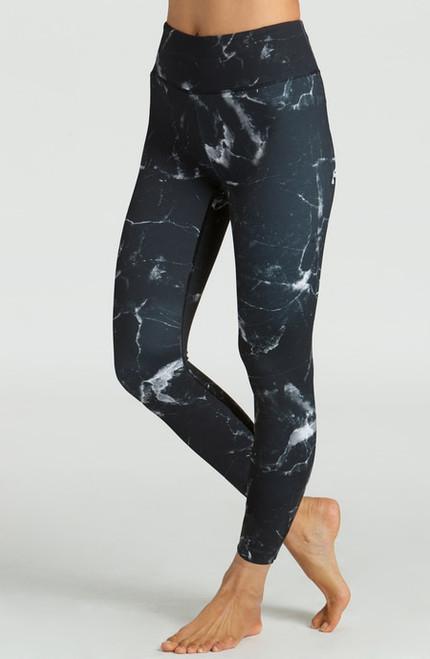 Grace Ultra High Waist 7/8 Yoga Legging in Black Onyx
